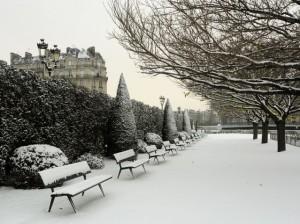Города Европы Зимой